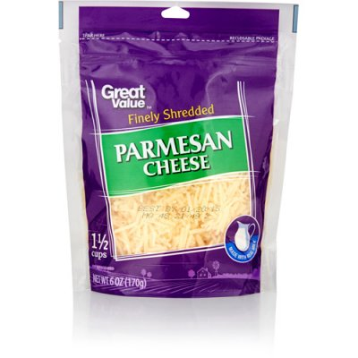 Parmesan Cheese - Finely Shredded