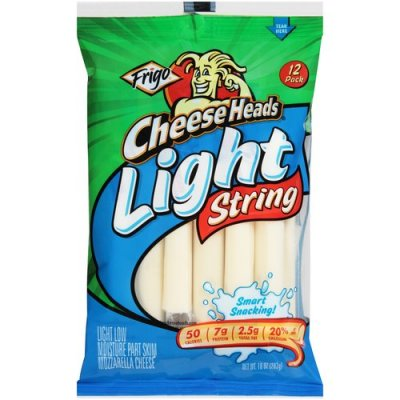 String Cheese, 100% Natural, Light Mozzarella