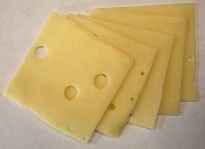 Swiss Cheese, Sliced