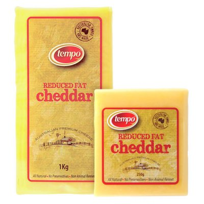 Cheddar Cheese, Low Fat