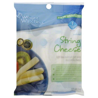 Light String, Low Moisture Part Skim Mozzarella Cheese