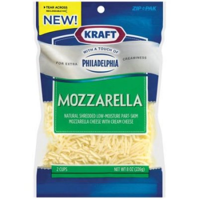 Mozzarella, Shredded, Organic