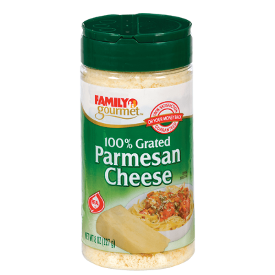 Parmesan, Grated, Vegetarian, Artisan Cheese