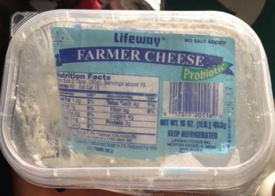 Probiotic Farmers Cheese