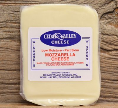 Mozzarella - Part Skim