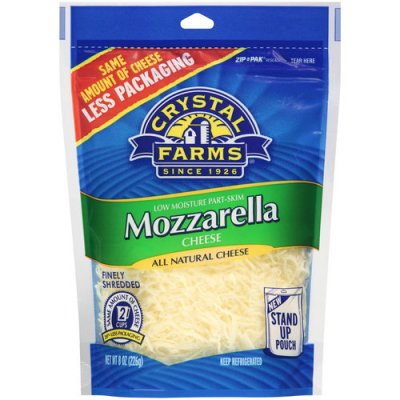 Mozzarella Cheese, Finely Shredded