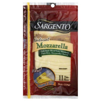 Mozzarella Deli-Style Cheese Slices