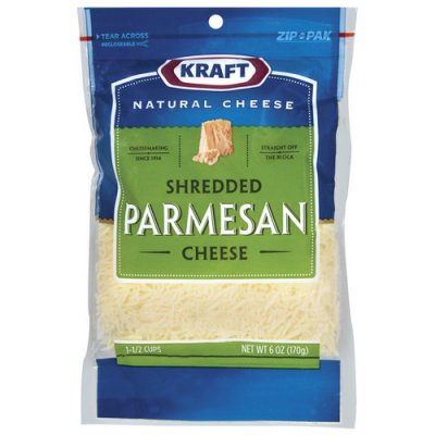Natural Cheese, Finely Shredded Parmesan Cheese
