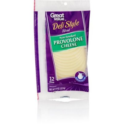 Provolone Cheese - Sliced Non-Smoked