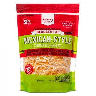 Reduced Fat Mexican Style Four Cheese Blend