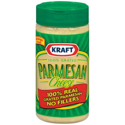 100% Real Grated Parmesan Cheese