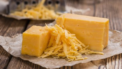 Cheese Food Alternative, Shredded Pasteurized Process, Monterey Jack & Cheddar Flavor