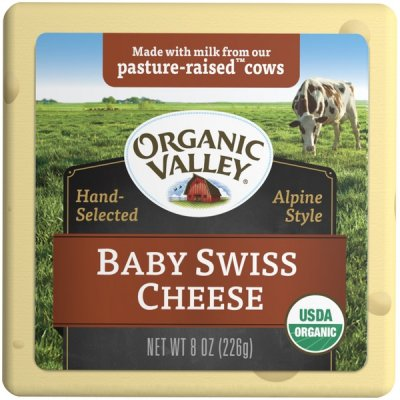 Baby Swiss Cheese, Organic