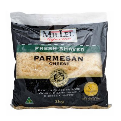 Parmesan Cheese, Freshly Shaved