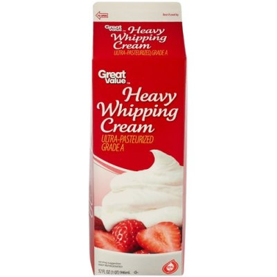 Whipping Cream, Heavy