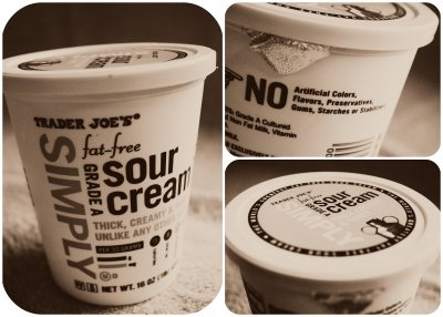 Sour Cream,Cultured Grade A Pasteurized