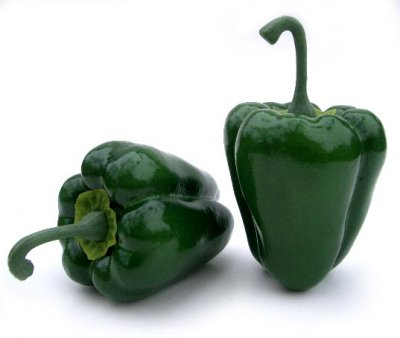 Peppers, Bell, Greenhouse, Small, Green