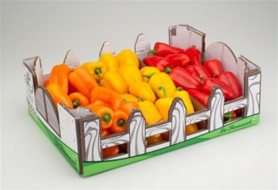 Peppers, Elongated, Clovis, Orange / Lamuyo, Orange