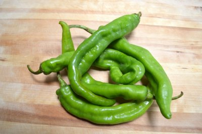 Peppers, Long, Hot, Green