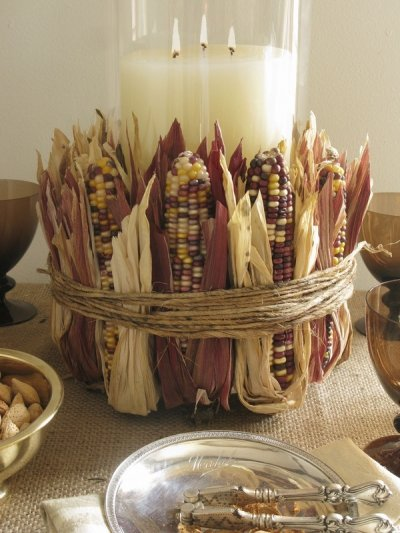 Corn, Indian, Large, Decorative