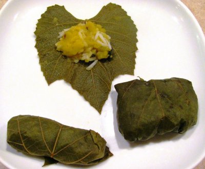 Grape leaves, canned