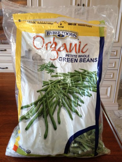 Green Beans, Petite Whole, Organic