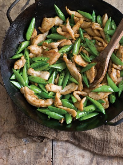Sugar Snap Stir Fry