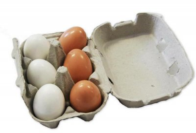 Eggs, Fresh White Grade A Medium 21 Oz