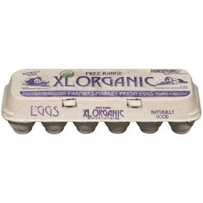 Organic Fresh Brown Eggs, Large