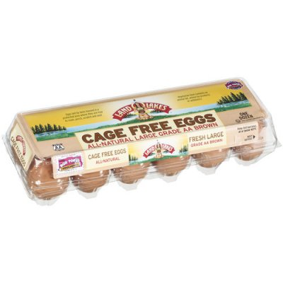 Cage Free, Grade A Large Eggs