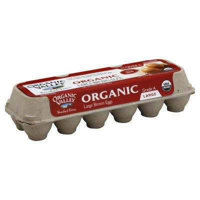 Organic Brown Eggs Grade A Large - Omega 3