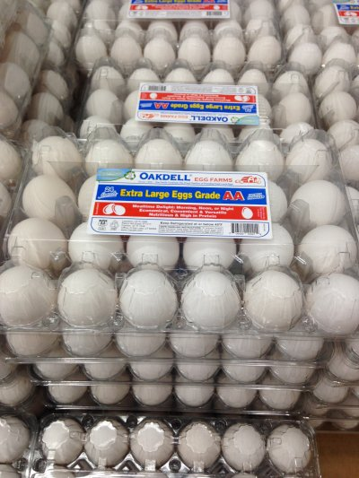 18 Extra Large USDA Grade AA Eggs