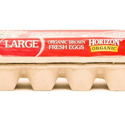 Organic Large Grade A Brown Eggs