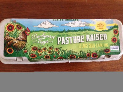 Organic Pasture Raised Eggs