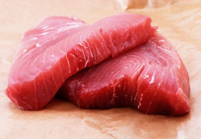 Fish, tuna, fresh, yellowfin, raw