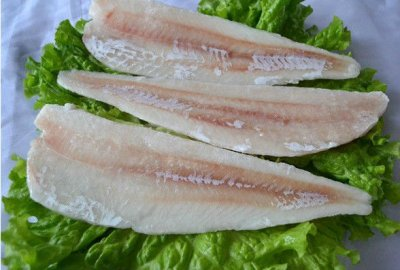 Fresh Frozen Cod Lions, Boneless And Skinless