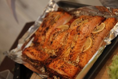 Pacific Salmon Fillets