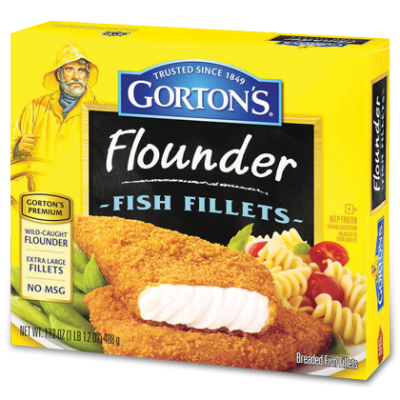 All Natural Fish Fillets,Wild Flounder