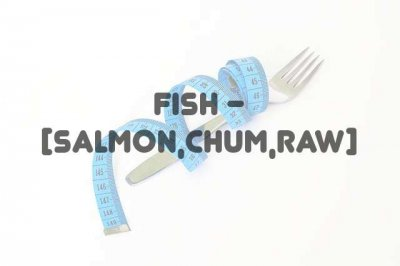 Fish, salmon, chum, canned, drained solids with bone