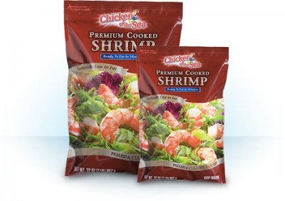 Shrimp - Cooked, Tail-off
