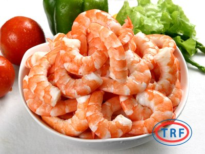 Cooked Tail-On Shrimp