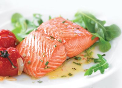 Pacific Salmon Portion