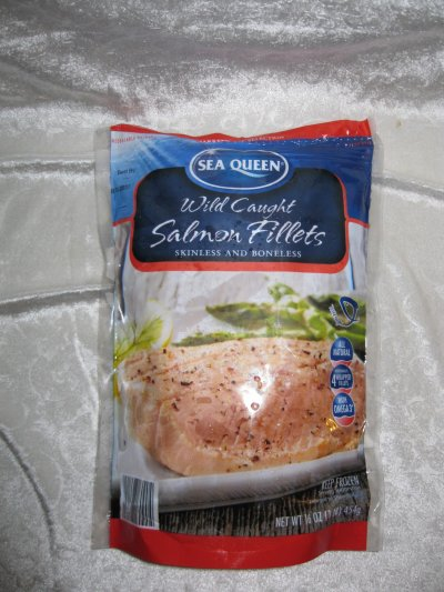 Salmon Fillets, Skinless & Boneless, Wild Caught