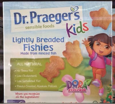 Kids Lightly Breaded Fishies