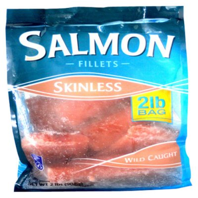Salmon Fillets, Skinless