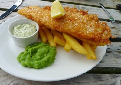 Crispy Battered Haddock