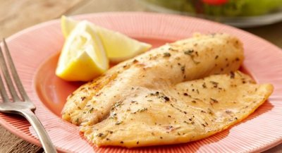 Tilapia, Seasoned Grill