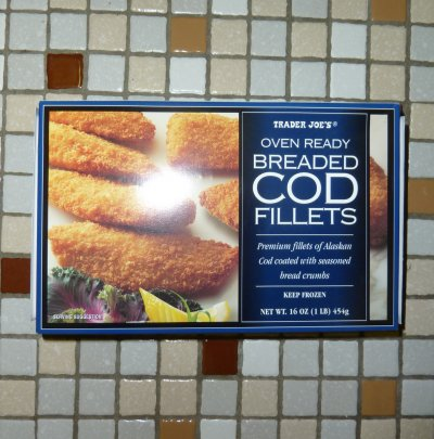 Oven Ready Breaded Cod Fillets