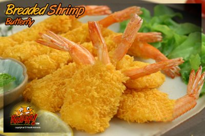 Shrimp, Breaded, Butterfly