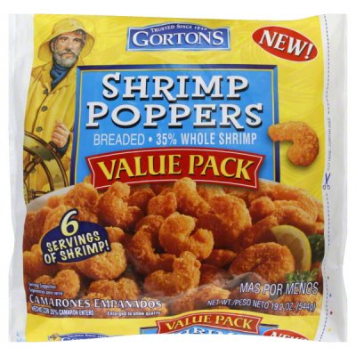 Shrimp, Breaded Poppers, Value Pack